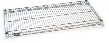 Nexel Chrome Wire Shelf w/Clips, 72
