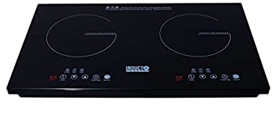 Inducto Professional Dual Induction Cooktop Counter Top Burner
