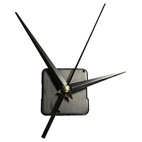 JISNKEI Hands Quartz DIY Wall Clock Movement Mechanism, Clock Repair Replacement, 16/25Inch Maximum Dial Thickness, Clock Parts Repair Kit, Mute Scanning Battery Operated/Jump Seconds Movement
