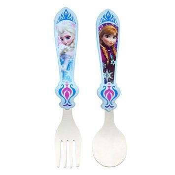 Disney Anna and Elsa Flatware – Frozen image