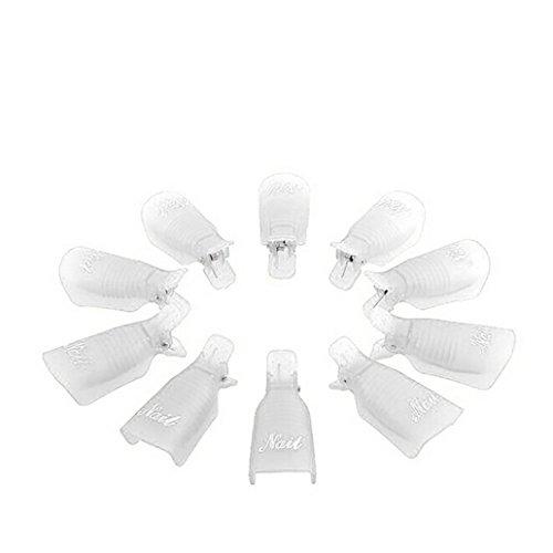 Nail UV Strumento Tappo Polish Soak 1 Polish Plastica Remover Off Art Wrap Remover Gel Zolimx Clip w0t6zxqP