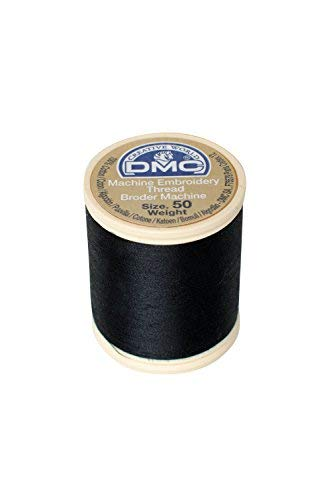 DMC 237A-50310 Cotton Embroidery Thread 50WT 547Yds ()
