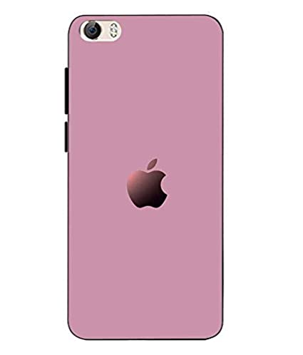 half off 306db c7b07 Casecover Soft Back Cover For Vivo Y55 - Pink