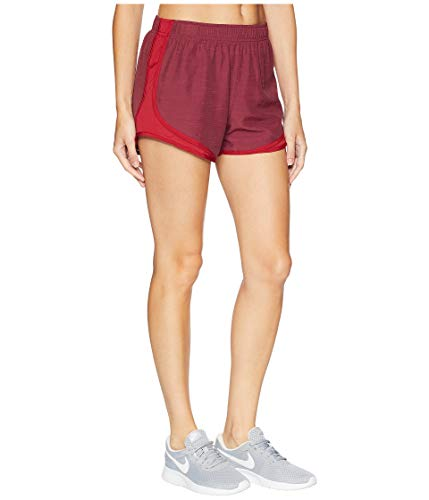 Nike Women's Dry Tempo Short Red Crush/Red Crush/Red Crush/Wolf Grey X-Small 3 by Nike (Image #4)