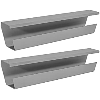 Amazon.com : WireTamer Cable Management Tray (2 Pack, Grey ...