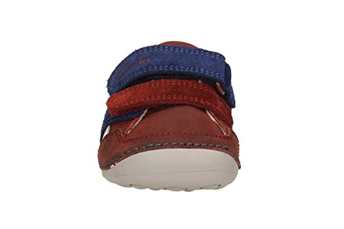 ClarksTiny Zakk - zapatillas de running Bebé-Niños marrón