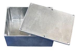 BUD Industries CN-5710 Die Cast Aluminum Enclosure, 6-49/64
