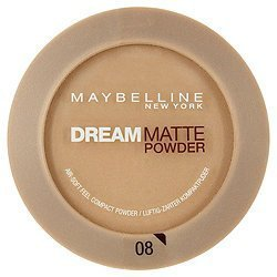 Dream Matte Powder Foundation by Maybelline Golden Sand by Maybelline (English Manual)
