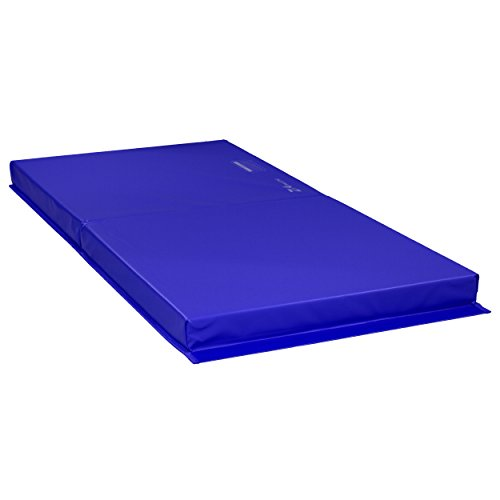 Z Athletic Landing Crash Mat Open Cell for Gymnastics, Tumbling, Martial Arts (Blue, 6ft x 3ft x...