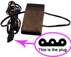 janome power cord - 8