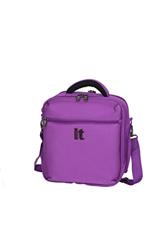 it luggage Mega lite Premium 11.4 Inch Cabin Bag, Purple, One Size by IT Luggage