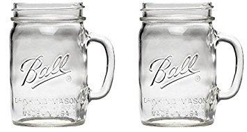(Ball 1440016010 24 oz. Wide Drink Mug (2-Pack))