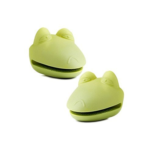Green Frog Silicone Pot Holders **Matching Set of 2**