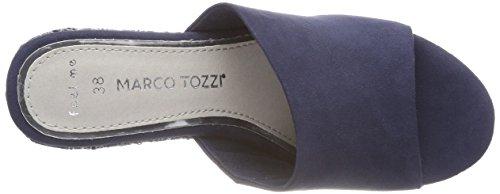 Bleu Tozzi Marco Mules 27219 Navy Femme pSO6Pq