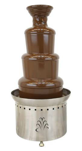 Buffet Enhancements Stainless Steel 3 Tier 35 Inch Chocolate Fountain (Chocolate Fountain Buffet compare prices)
