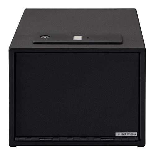 Hand Gun Safe Biometric Quick Access With Shelf Black Hand Gun Safe Fingerprint