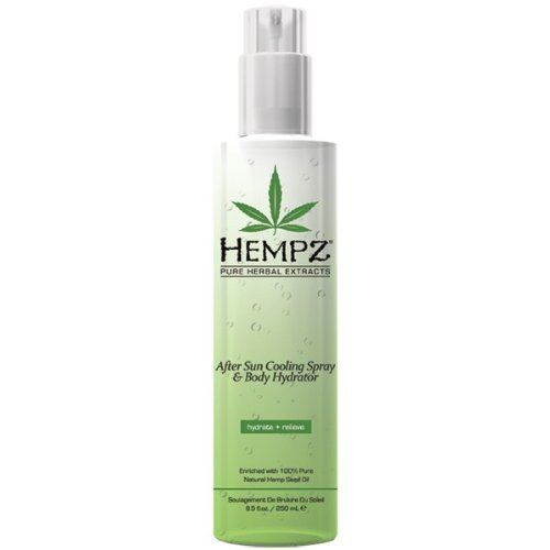 Hempz Lotion After Sun Cooling Gel and Body Hydrator, Cle...