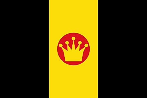 - magFlags Large Flag Latin Kings | Dels Latins Kings | landscape flag | 1.35m² | 14.5sqft | 90x150cm | 3x5ft - 100% Made in Germany - long lasting outdoor flag