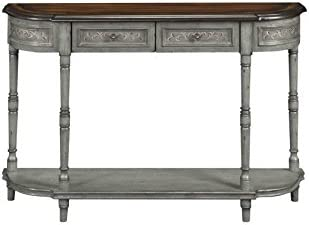 Coast To Coast Imports 2-Drawer Console Table