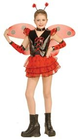 Childrens Lady Bug Halloween Costume Size Small 4-6