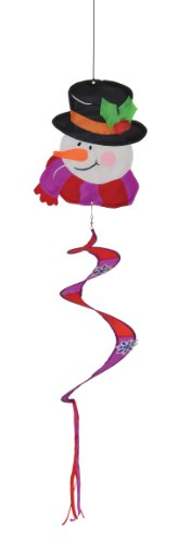 - In the Breeze Snowman Twister Tail Yard Art