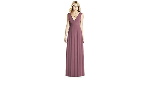 dc3c24198e8 SOCIAL BRIDESMAIDS Style 8185 - English Rose - Size 8 at Amazon Women s  Clothing store