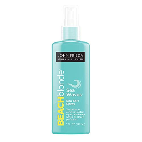 John Frieda Beach Blonde Sea Waves Sea Salt Spray, 5 Ounces
