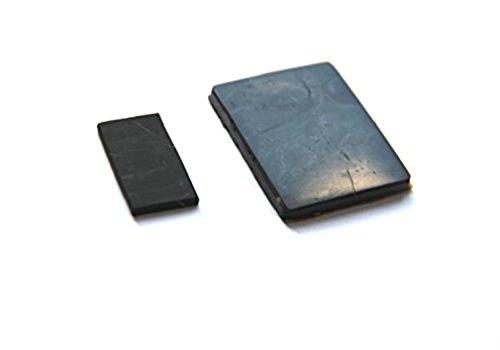 Karelian Heritage Regular Shungite Cell Phone Protection Sticker Plates (2 Sticker Set) by Karelian Heritage