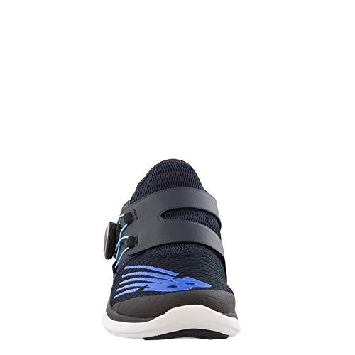 New Balance Boys' Reveal V1 Running Shoe, Eclipse/Vivid Cobalt, 5 M US Big Kid