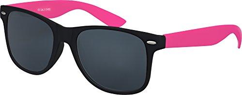 haute au Schwarz Lunettes Modèles 101 choix Nerd Soleil à Smoke Vintage ressort Unisexe plusieurs Lunettes Charnière Balinco De Gomme Rétro couleurs mat qualité Pink HwqtcxBdU