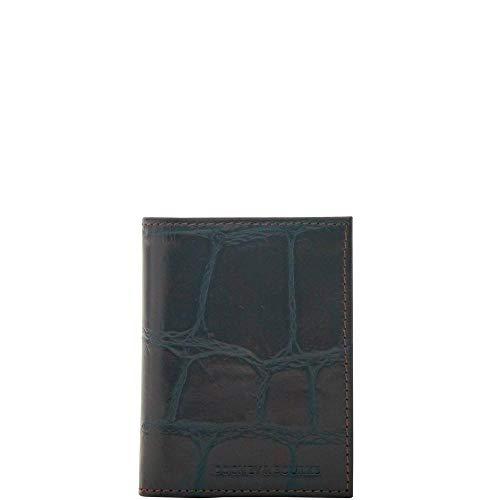 - Dooney & Bourke Men's Croco Trifold Wallet, Espresso 8848-4