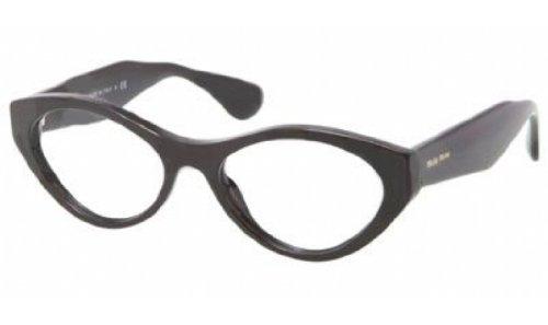 Miu Miu MU03MV Eyeglasses-1AB/1O1 - 2013 Eyeglasses Miu Miu