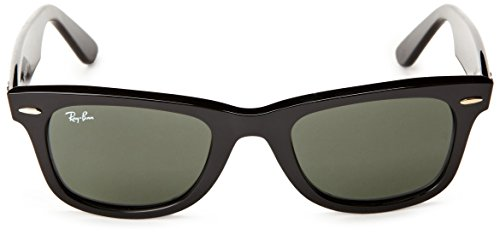 Ray Gafas de Black Gradiant Grey Wayfarer Crystal Negro sol Ban qqZPnTB