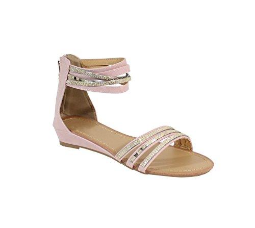 By Shoes - Sandalias para Mujer Rosa