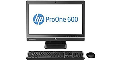 "2018 HP ProOne 600 21.5"" FHD All-in-One Desktop Computer, Intel Pentium G3220 3.0GHz, 4GB DDR3 Memory, 500GB HDD, DVD, USB 3.0, WiFi, Windows 10 Home (Certified Refurbished)"