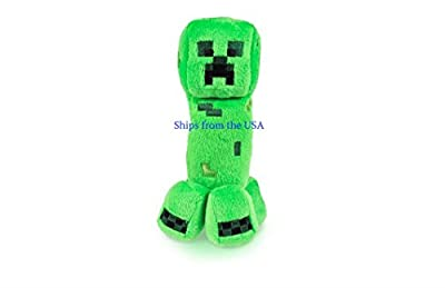 "Minecraft Creeper 7"" Plush Minecraft Creeper Plush Toy from Distributed by Cold Creek Gifts"