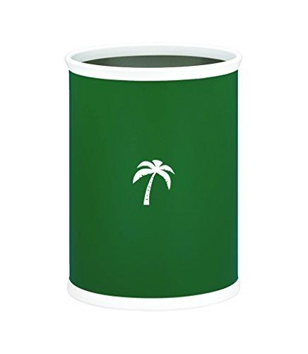 Palm Tree Oval Wastebasket