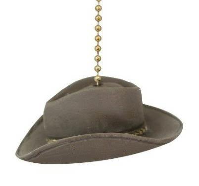 Clementine Design Cowboy Hat Ceiling Fan Pull Home Decor Chain Light