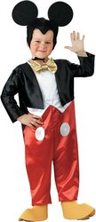Boy's Costume: Mickey Mouse Deluxe 4 To (Family Mickey Mouse Costumes)