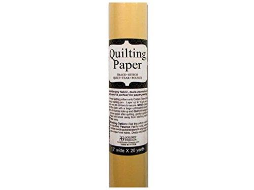 Golden Threads Quilting Paper 20ydx12'' by Golden Threads