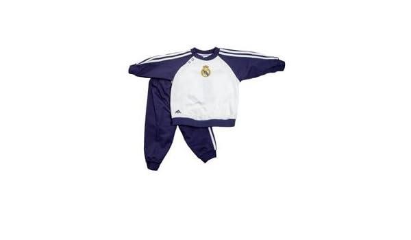 adidas REAL CO BABYJOG - Chándal de fútbol para bebé - tamaño: 98 ...