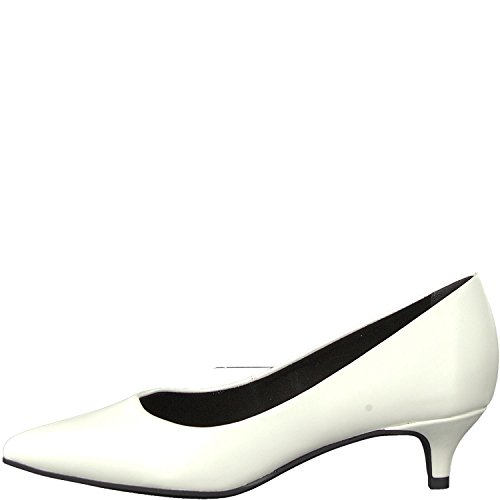 Tamaris WoMen 22307-21 Closed-Toe Pumps White (White Matt 108)