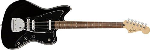 Fender Jaguar Tremolo (Fender Standard Jazzmaster Electric Guitar - HH - Pau Ferro Fingerboard, Black)