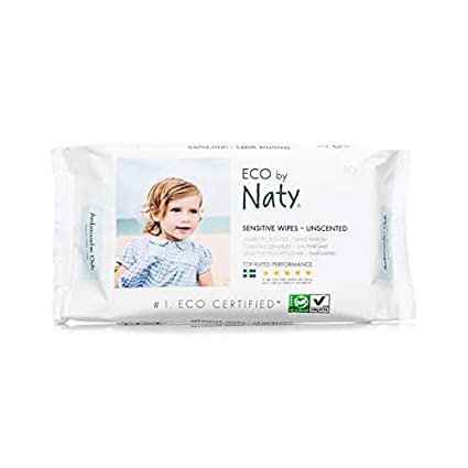 Eco Toallitas Sensitive con aloe vera 56 pieza Naty