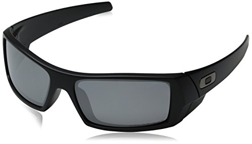 cheap oakley glasses  oakley men's gascan sunglasses,matte black frame/grey lens,one size