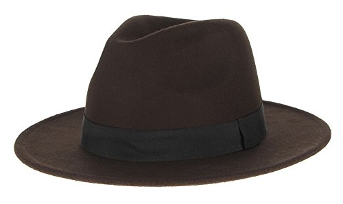 5db8a0022709fa Best Value · Gemvie Cotton Trilby Fedora Coffee product image