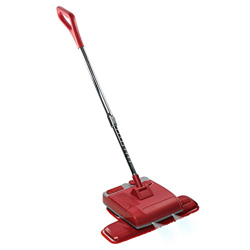 EVERTOP Cordless Power Floor Polisher Cleaner for Marble, Tiles, Wood Floor - Red by EVERTOP
