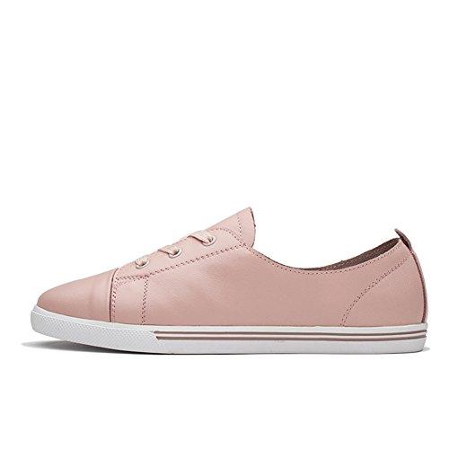 Femmes Chaussures Semelle en caoutchouc Confortable Pu cuir Air Casual chaussures avec fermeture éclair Sneakers dgBJJZp