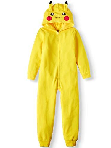 AME Boy's Pikachu Hooded Union Suit Pajama Onesie