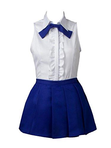 Cosfun Fairy Tail Erza Scarlet 2th ver Cosplay Costume mp003144 (Women XXXL)]()